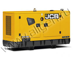 Дизельный генератор JCB G27QS мощностью 22 кВт