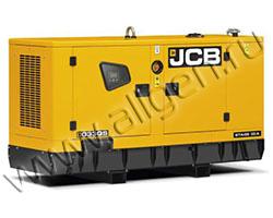 Дизельный генератор JCB G33QS мощностью 26 кВт