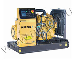 Дизельный генератор Kipor KDE13E3 мощностью 9 кВт