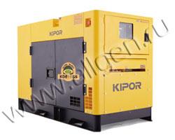 Дизель генератор Kipor KDE27SS3 мощностью 25 кВА (20 кВт) в шумозащитном кожухе