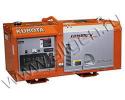 Дизельный генератор Kubota GL6000 в шумозащитном кожухе