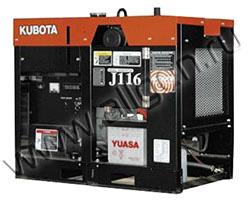 Дизельный генератор Kubota J116 (13 кВт)