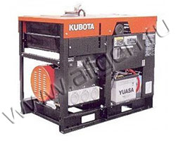 Дизельный генератор Kubota J310 мощностью 9 кВт