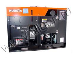 Дизельный генератор Kubota J315 (13 кВт)