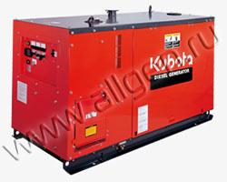 Дизельный генератор Kubota KJ-S130VX мощностью 10 кВт