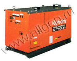 Дизельный генератор Kubota KJ-T130DX мощностью 11 кВт