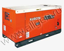 Дизельный генератор Kubota SQ-1130 мощностью 12 кВт