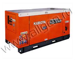 Дизельный генератор Kubota SQ-3200 мощностью 18 кВт