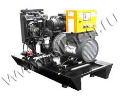 Дизель электростанция Kurkcuoglu KJL150 мощностью 150 кВА (120 кВт) на раме