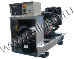 Дизель генератор Lister Petter LLD135 мощностью 15 кВА (12 кВт) на раме