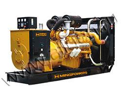 Дизельный генератор MingPowers M-SC500 (396 кВт)