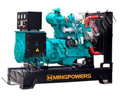 Дизель генератор MingPowers M-P10 мощностью 10 кВА (8 кВт) на раме