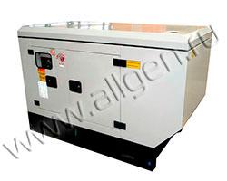 Дизель генератор MingPowers M-P10 мощностью 10 кВА (8 кВт) в шумозащитном кожухе