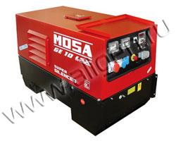Дизельный генератор MOSA GE 10 YSX в шумозащитном кожухе