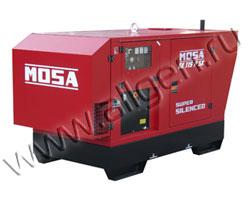 Дизель генератор MOSA GE 115 PSX мощностью 110 кВА (88 кВт) в шумозащитном кожухе