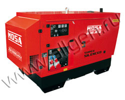 Дизель генератор MOSA GE 145 JSX мощностью 140 кВА (112 кВт) в шумозащитном кожухе