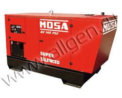 Дизель генератор MOSA GE 145 PSX мощностью 152 кВА (122 кВт) в шумозащитном кожухе