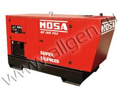 Дизельный генератор MOSA GE 165 PSX (132 кВт)