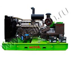 Дизель электростанция MOTOR АД30-Т400-CU мощностью 41 кВА (33 кВт) на раме