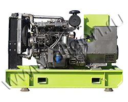 Дизель электростанция MOTOR АД75-T400-Я мощностью 103 кВА (83 кВт) на раме