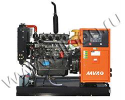 Дизель электростанция MVAE АД-18-400-Р мощностью 25 кВА (20 кВт) на раме
