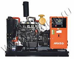 Дизель электростанция MVAE АД-110-400-С мощностью 150 кВА (120 кВт) на раме