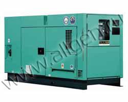 Дизель генератор Nippon Sharyo NES125EH мощностью 110 кВА (88 кВт) в шумозащитном кожухе