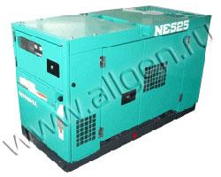 Дизельный генератор Nippon Sharyo NES25EK-3 мощностью 18 кВт