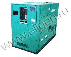 Дизель генератор Nippon Sharyo NES45EN2 мощностью 41 кВА (33 кВт) в шумозащитном кожухе