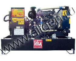 Дизель генератор Onis Visa P 9  мощностью 10 кВА (8 кВт) на раме