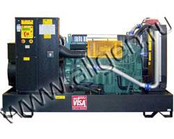 Дизель электростанция Onis Visa V 380 мощностью 414 кВА (331 кВт) на раме