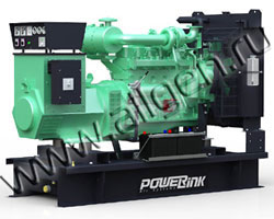 Дизельный генератор PowerLink GMS100C/S (110 кВА)