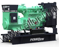 Дизельный генератор PowerLink GMS130C/S (144 кВА)