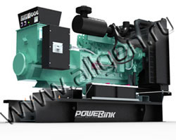 Дизельный генератор PowerLink GMS200C/S (176 кВт)