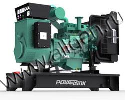Дизель электростанция PowerLink GMS22C/S мощностью 24 кВА (19 кВт) на раме
