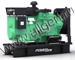 Дизель электростанция PowerLink GMS45PX/S мощностью 50 кВА (40 кВт) на раме