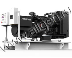 Дизель электростанция PowerLink WPS137/S мощностью 152 кВА (122 кВт) на раме