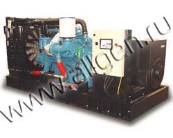 Дизель генератор Pramac GSW870M мощностью 871 кВА (697 кВт) на раме