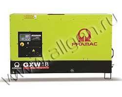 Дизельный генератор Pramac GXW18W мощностью 14 кВт