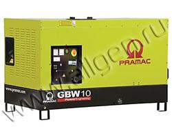 Дизельный генератор Pramac GSW10Y мощностью 6 кВт