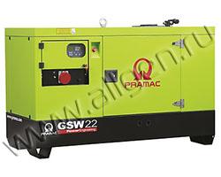 Дизельный генератор Pramac GSW22P мощностью 11 кВт