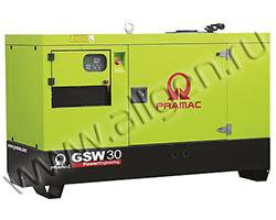 Дизельный генератор Pramac GSW30P мощностью 16 кВт