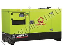 Дизельный генератор Pramac GSW35Y мощностью 16 кВт