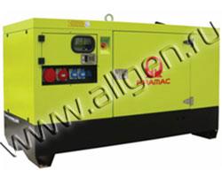 Дизель генератор Pramac GSW30Y мощностью 33 кВА (26 кВт) в шумозащитном кожухе