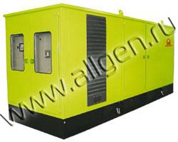 Дизель генератор Pramac GSW870M мощностью 871 кВА (697 кВт) в шумозащитном кожухе