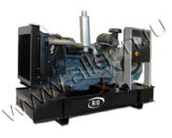 Дизель электростанция RID 130 Deutz мощностью 143 кВА (114 кВт) на раме