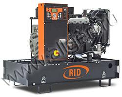 Дизельный генератор RID 8 E-SERIES на раме