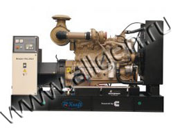 Дизель электростанция Rkraft HHC375 мощностью 412 кВА (330 кВт) на раме