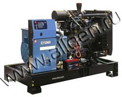 Дизель электростанция SDMO J110K мощностью 110 кВА (88 кВт) на раме