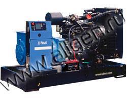 Дизель электростанция SDMO J200K мощностью 198 кВА (158 кВт) на раме
